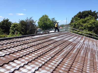 Decramastic Roof Restoration Kowhai Roof Painting And
